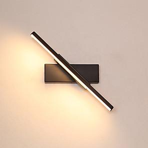 abordables Luces de Pared Interior-PUSHENG Modern Luces de Pared LED Dormitorio / Bazares y Cafeterías aluminio Luz de pared 220-240V 7 W