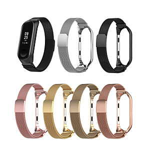 cheap Smartwatch Bands-Watch Band for Mi Band 3 / Xiaomi Band 4 Xiaomi Sport Band Microfiber Wrist Strap