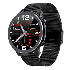 cheap Smartwatches-L11 Fitness Tracker Support ECG+PPG/ Blood Pressure/ Blood Oxygen Monitoring IP68 Waterproof Smartwatch for Samsung/ Iphone/ Android Phones