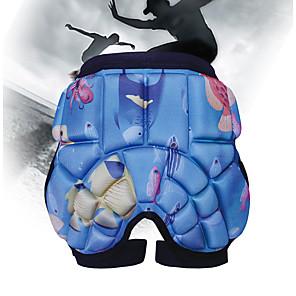 baratos Patins-Almofada para Esqui / Patinagem Artistica / Andar de patins Para Meninos / Para Meninas Pavio Humido / Antichoque / Proteção Poliéster / EVA 1 Peça Roxo / Fúcsia