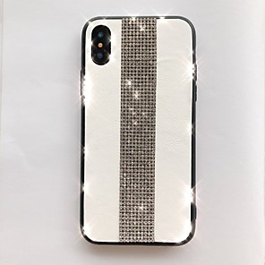 cheap iPhone Cases-Case For Apple iPhone 11 / iPhone 11 Pro / iPhone 11 Pro Max Glitter Shine Back Cover Lines / Waves TPU
