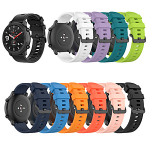 cheap Smartwatch Bands-Watch Band for Amazfit  GTR  42mm / Amazfit Bip / Amazfit Bip Lite Amazfit Classic Buckle Silicone Wrist Strap