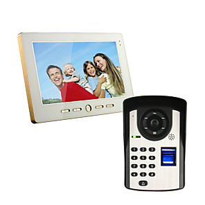 cheap Movie & TV Theme Costumes-Wired 7 Inch Hands-free 800*480 Pixel One To One Video Doorphone