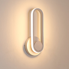cheap LED Strip Lights-PUSHENG Modern LED Wall Lights Bedroom / Shops / Cafes Aluminum Wall Light 220-240V 12 W
