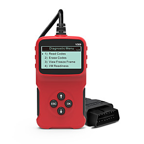 cheap OBD-Universal OBDII Diagnostic Tool Scanner Code Reader Car Code Scan for All 1996 and Newer OBDII Compliant Vehicles V309 ELM327 Engine Code Readers For Automobile Multilingual OBDII Car Repair Scan Tool