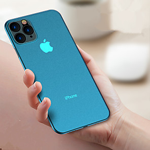 cheap iPhone Cases-Slim Ultra Thin Colorful Translucent Design Matte Back Cover Phone Case For Apple iPhone 11 /11 Pro 11 Pro Max XS XR XS Max 8 8 Plus 7 7 Plus
