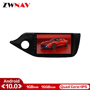 cheap Car DVD Players-ZWNAV 9inch 1din 1GB 16GB Android 10 Car GPS Navigation Car MP5 Player Radio Car Stereo Multimedia Player Steering Wheel Control for KIA Ceed 2012-2016