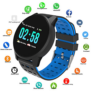 cheap Sport Watches-Men's Sport Watch Digital Silicone Red / Green / Grey 30 m Water Resistant / Waterproof Bluetooth Smart Digital Casual Fashion - Black / Blue Black / Gray Black / Green / Chronograph / Tachymeter