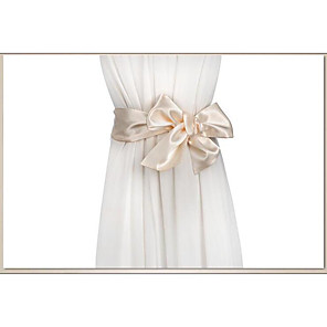 cheap Party Sashes-Silk Like Satin Wedding / Party / Evening Sash With Belt Women's Sashes