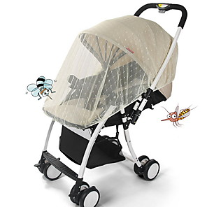cheap Mosquito Nets-Mosquito Net for Baby Infants Stroller Pushchair Cart Mosquito Insect Net Safe Mesh Buggy Crib Netting