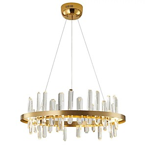 cheap Pendant Lights-QIHengZhaoMing 60 cm Sputnik Design Chandelier Metal LED 110-120V / 220-240V