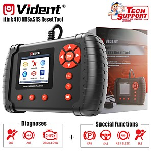 cheap OBD-VIEDNT iLink410 ABS SRS SAS Reset Tool OBDII Diagnostic Tool Scan Tool OBD2 Automotive Scanner Code Reader Professional Car Diagnostic Tool OBD2 Scanner