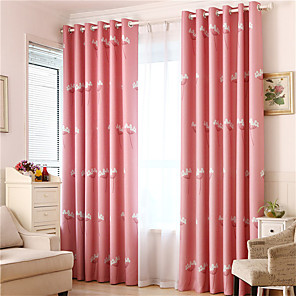 cheap Curtains Drapes-Gyrohome 1PC GYC2124 Dandelion Shading High Blackout Curtain Drape Window Home Balcony Dec Children Door *Customizable* Living Room Bedroom Dining Room