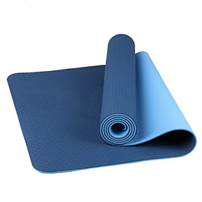 cheap Home Security System-Essentials Thick Yoga Mat Fitness & Exercise Mat with Easy-Cinch Yoga Mat Carrier Strap