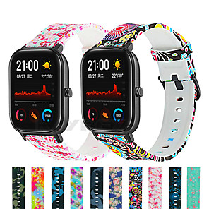 cheap Smartwatch Bands-Smart Watch Band for Amazfit GTS Xiaomi Sport Silicone Replacement Bracelet Strap