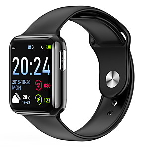 cheap Smartwatches-V5 Unisex Smartwatch Android iOS Bluetooth Waterproof Heart Rate Monitor Blood Pressure Measurement Distance Tracking Information ECG+PPG Pedometer Call Reminder Activity Tracker Sleep Tracker