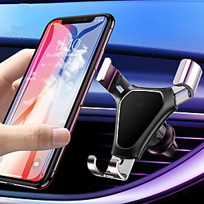 cheap Car Holder-Gravity Car Phone Holder Air Vent Mount Universal Mobile Smartphone Holder For Phone In Car Support For Samsung S10 S9
