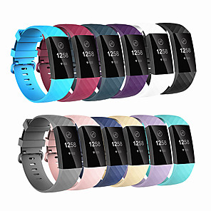 cheap Smartwatch Bands-Smart watch Bracelet for Fitbit Charge 3 Strap sport Replace Accessories for fitbit band correa for fitbit charge3