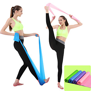 cheap Fitness Gear & Accessories-Exercise Resistance Bands 1 pcs Carry Bag Sports Mixed Material Yoga Pilates Fitness Ultra Strong Antigravity Lightweight Weight Loss Explosive Power Training Posture Corrector For Men's Women's