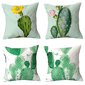 cheap Pillow Covers-4 pcs Throw Pillow Simple Classic 45*45 cm