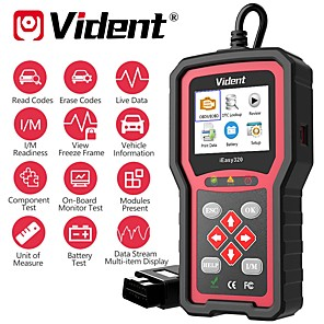 cheap OBD-VIDENT iEasy320 OBDII/EOBD+CAN Code Reader Works with Most 1996 and Newer OBDII& CAN Compliant Cars