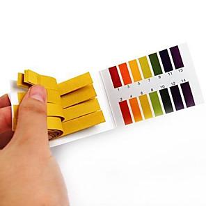 cheap Testers & Detectors-80Strips Full Range Alkaline Acid pH 1-14 Test Paper Litmus Testing Indicator