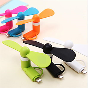 cheap Fans-2-in-1 Mini Cell Phone Fan for iPhone/iPad and Android