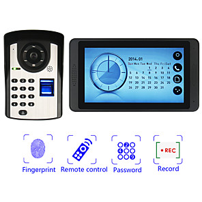 cheap Mobile Signal Boosters-Wired 7 Inch Hands-free 800*480 Pixel One To One Video Doorphone