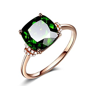 cheap Rings-Women's Ring AAA Cubic Zirconia 1pc Rose Gold Alloy Stylish Daily Jewelry Cute