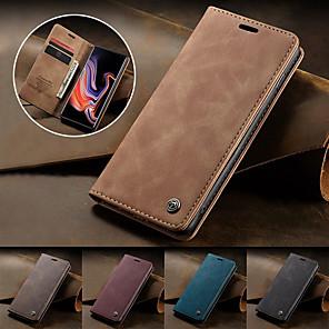 cheap Samsung Case-CaseMe Magnetic Flip Wallet Phone Case Retro Stand for Samsung Galaxy S20 S20 Ultra S20 Plus S10 S10 Plus S10E S10 5G S9 S9 Plus S8 S8 Plus S7 S7 Edge A10 A20 A30 A40 A50 A70 A30S A50S Note 10 Plus