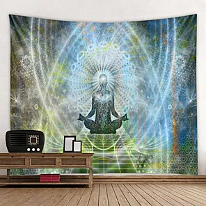 cheap Wall Tapestries-Mandala Bohemian Wall Tapestry Art Decor Blanket Curtain Hanging Home Bedroom Living Room Dorm Decoration Boho Hippie Psychedelic Floral Flower Lotus Buddha Indian
