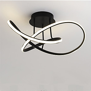 cheap Flush Mounts & Semi Flush Mounts-Modern Simple Ceiling Lamp Creative Bedroom Lamp Fashion Living Room Lamp Dining Chandelier Lamps 48 w