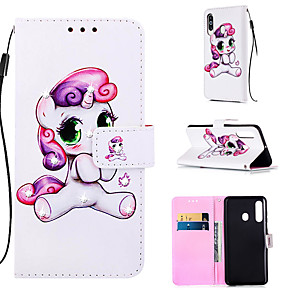 cheap Car DVD Players-Case For Samsung Galaxy S9 / S9 Plus / S8 Plus Wallet / Card Holder / Rhinestone Full Body Cases Animal PU Leather for Galaxy S20 PLUS S20 ULTRA S20 A51 A71 A50 A40 A30 A20 A10S NOTE10 J4 PLUS