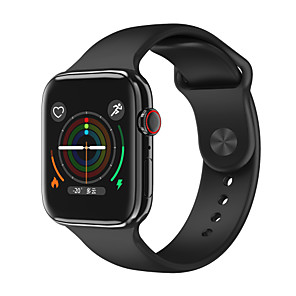 cheap Smartwatches-F18 Smartwatch for Apple/ Samsung/ Android Phones, Bluetooth Fitness Tracker Support Heart Rate Monitoring