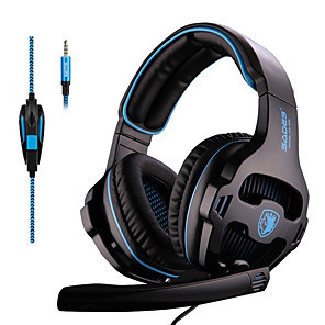 cheap Gaming Headsets-SADES SA-810 3.5mm Stereo Gaming Headset Headphones Multi-platform For PS4 Xbox One PC Mac Laptop Phone