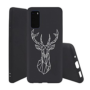 cheap Samsung Case-Case For Samsung Galaxy S10 / Galaxy S10 Plus / Galaxy S10 E Ultra-thin / Pattern Back Cover Animal TPU For Galaxy S20/S20 Plus/S20 Ultra/A51/A71/Note 10/Note 10 Plus