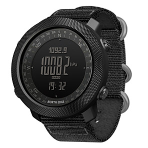 cheap Smartwatches-NORTH EDGE APACHE Unisex Smartwatch Android iOS Bluetooth Waterproof Calories Burned Long Standby Distance Tracking Information Stopwatch Pedometer Call Reminder Activity Tracker Sleep Tracker