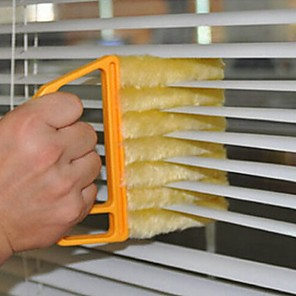 cheap Other Housing Organization-Useful Microfiber Window cleaning brush blind brush air Conditioner Duster cleaner with washable venetian blind cleaning cloth
