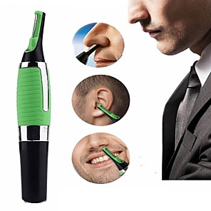 cheap Bathroom Gadgets-Multifunctional Eyebrow Ear Nose Trimmer Green Removal Clipper Shaver Personal Electric Face Care Hair Trimer