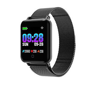 cheap Smartwatches-M19 Unisex Smart Wristbands Android iOS Bluetooth Waterproof Touch Screen Sports Long Standby Anti-lost ECG+PPG Pedometer Call Reminder Activity Tracker Sleep Tracker