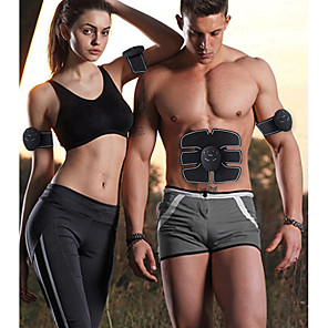 cheap Body Massager-EMS Wireless Muscle Stimulator Abdominal Toning Belt Muscle Toner Body Muscle Fitness Trainer For Abdomen Arm Leg Unisex
