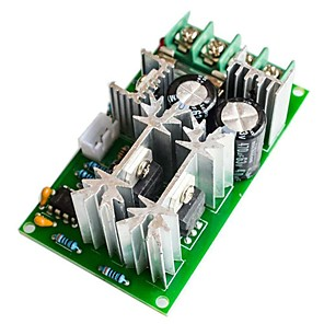 cheap Motherboards-20A PWM DC Motor Speed Regulator Controller Switch Max 1200W DC 12V 24V 36V 48V