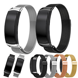 cheap Smartwatch Bands-Watch Band for Gear Fit 2 Samsung Galaxy Sport Band / Milanese Loop / Modern Buckle Stainless Steel Wrist Strap