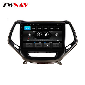cheap Car DVD Players-ZWNAV 10.1 inch 1din 1GB 16GB Android 10.0 Car GPS Navigation Car Stereo Player Car Multimedia Player DSP CarPlay For JEEP Cheroki 2014-2018