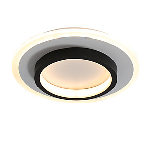 cheap Ceiling Lights-feimiao 2-Light 24 cm Circle Design Flush Mount Lights Metal Acrylic Painted Finishes LED / Modern 110-120V / 220-240V