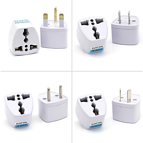 cheap Bags & Cases-1pcs General Travel Conversion Plug Adapter UK EU US AU Adapter Portable Plug Sockets