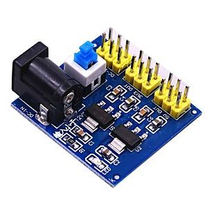 cheap Relays-5V 12V Multi Output Voltage Conversion DC-DC 12V to 3.3V 5V 12V Power Module