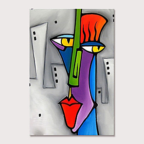 cheap Abstract Paintings-Mintura Large Size Hand Painted Abstract Cartoon Characters Oil Paintings on Canvas Pop Art Wall Pictures For Home Decoration No Framed