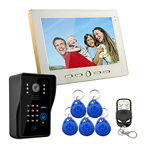 cheap Samsung Case-Wired 7 Inch Hands-free 800*480 Pixel One To One Video Doorphone