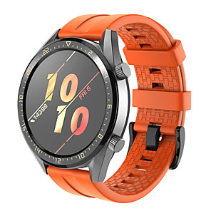 cheap Smartwatch Bands-Watch Band for Huawei Watch GT2 46mm Huawei Sport Band Silicone Wrist Strap